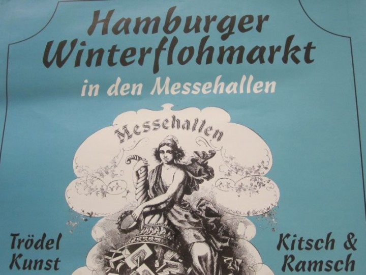 Hamburger Winterflohmarkt in den Messehallen
