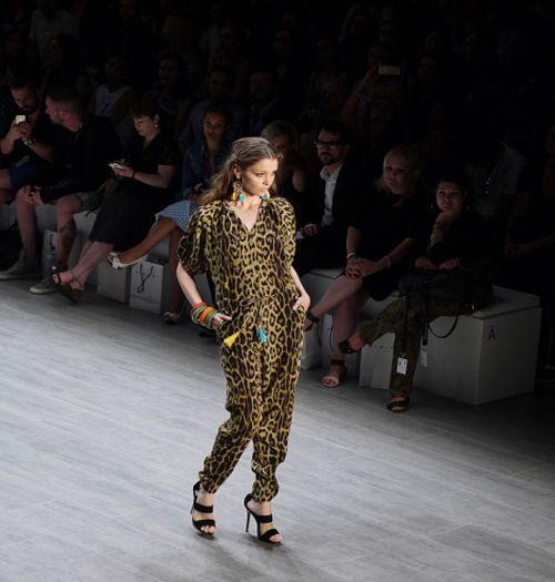 Berlin Fashion Week Berlin, Leopard Jumpssuit
