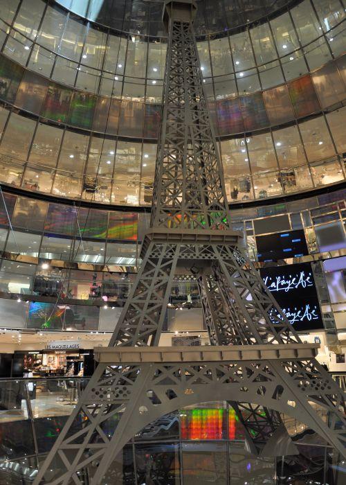GALERIES LAFAYETTE Eiffelturm