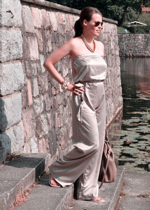 Burda Style Jumpsuit; Nähblogger