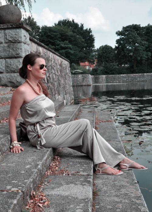 Burda Style Overall, taupe, Fashionblogger