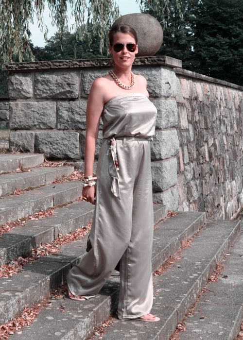 Burda Style Overall, taupe