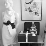 Chanel Schrank, Ankleidezimmer, Modeblogger