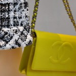 Chanel yellow bag