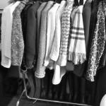 Große Kleiderstange, Ankleidezimmer, Modeblogger