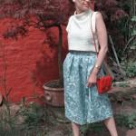 H&M Trend Oberteil, weiß, bauchfrei Sommer 2014