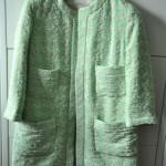 Zara Boucle-Mantel Mint, Saison Sommer 2014