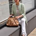 Zara Mantel, mint, Saison Sommer 2014
