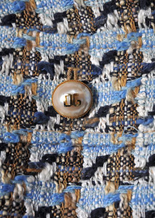 Dolche & Gabbana Knopf von einer Bouclejacke