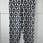 H&M Trend Leggings, Musterrung in Schwarz-Weiß