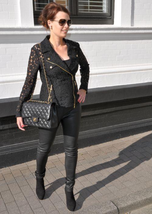 Moschino Motorcycle Jacket, Fashionblogger