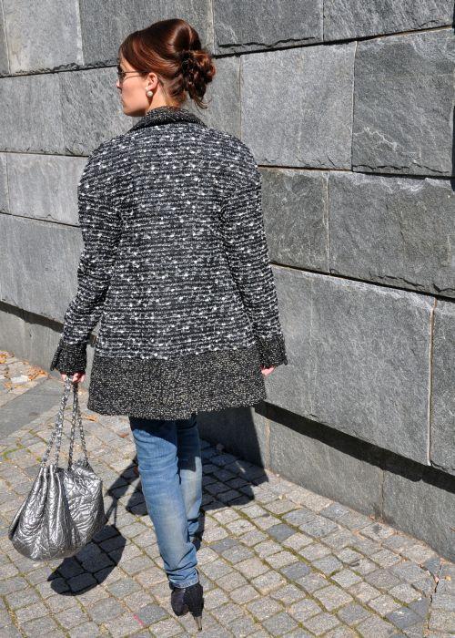 REBELLE Chanel-Look, Modeblogger
