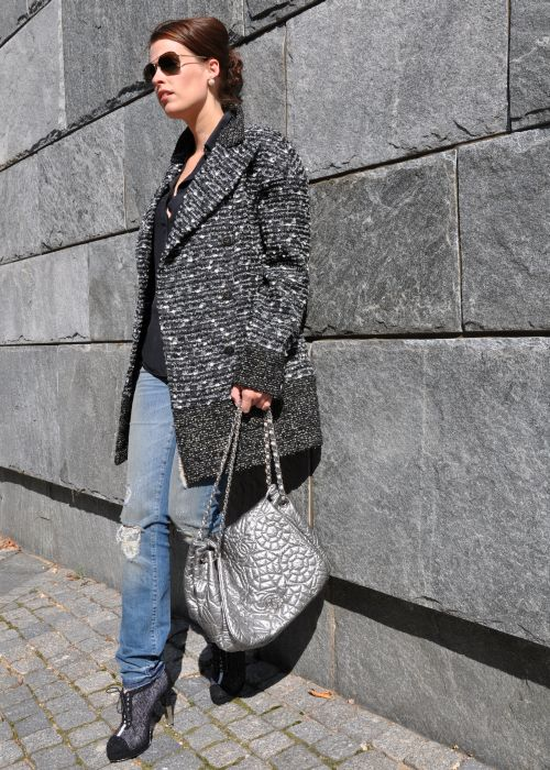 REBELLE Chanel- look, Fashionblogger