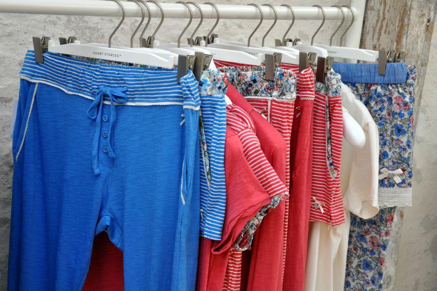 Short Stories, Body and Beach, homewear. maritim