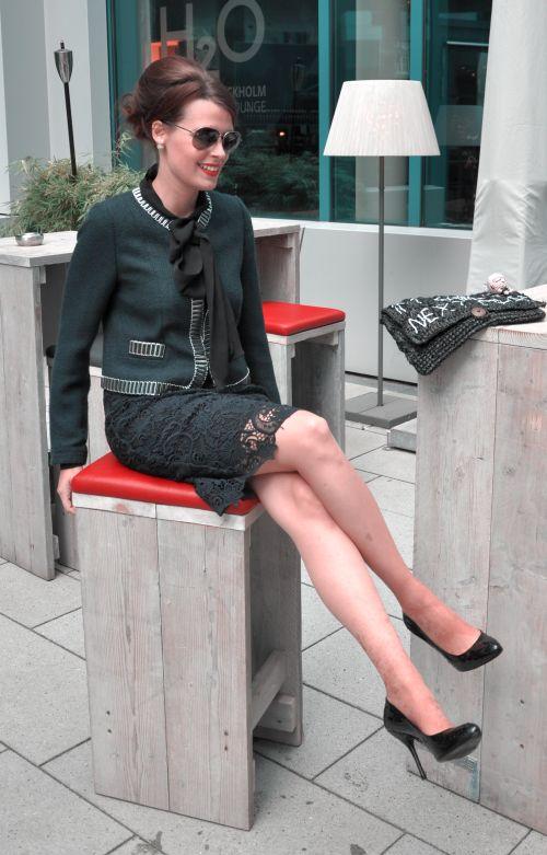 Zara Bleistiftrock, Outfitpost, Modeblogger Hamburg