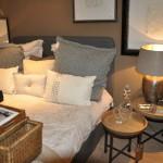 ABC Lounge Flamant, Bett, Strickkissen