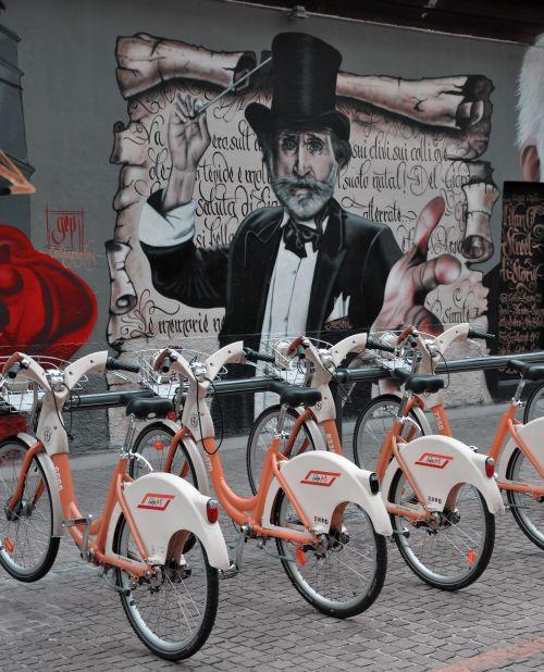 Fahrräder Mailand