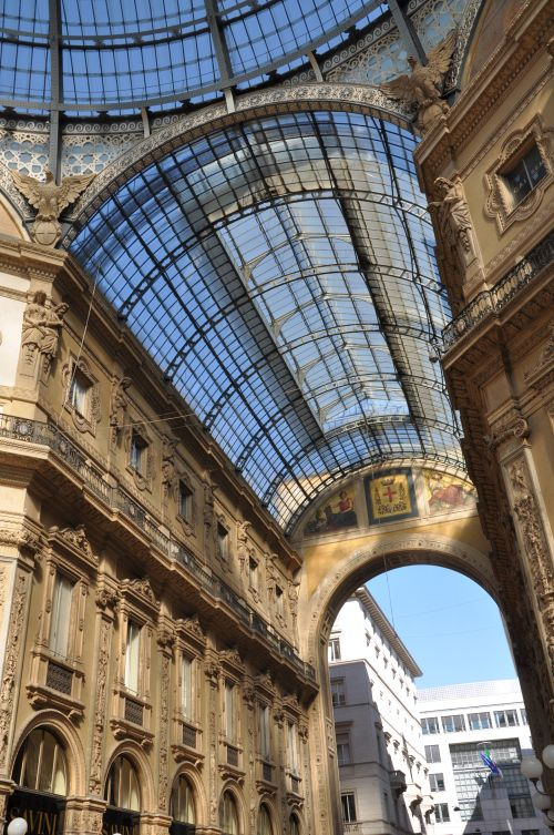 Galleria Vittorio Emanuele II, Fashionblogger