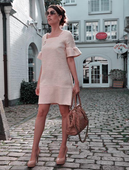 Burda Style Retro Kleid, Nähblogger, Fashionblogger, Hamburg Pöseldorf