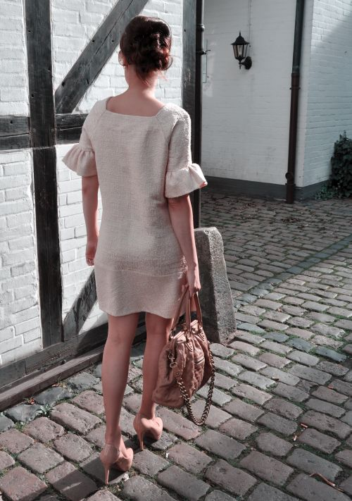 Burda Style Retro Kleid, Nähblogger, Fashionblogger, Modeblogger, Hamburg Pöseldorf