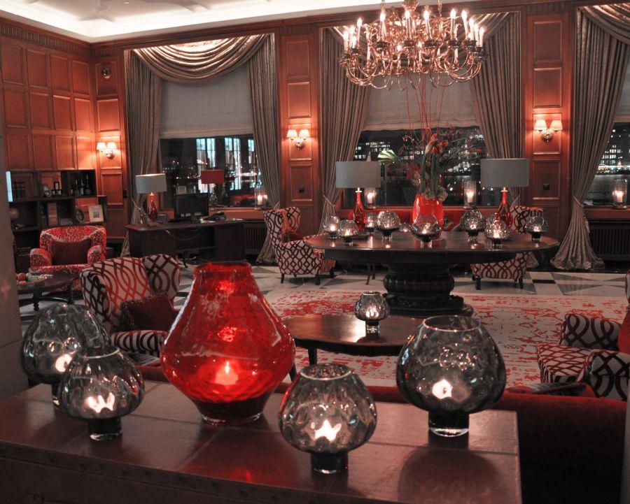 CADENZZA Cocktail Event, Fairmont Hotel Vier Jahreszeiten, Windlichter