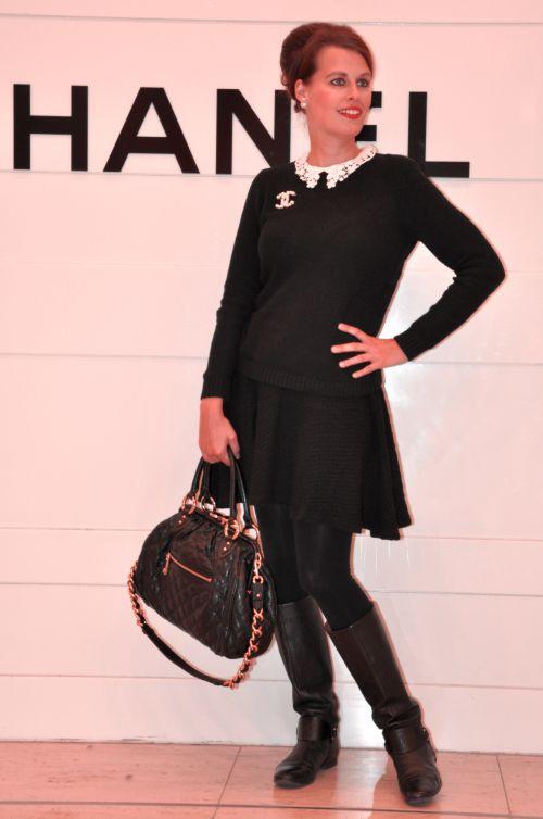 Chanel KaDeWe Outfit, fashionblogger