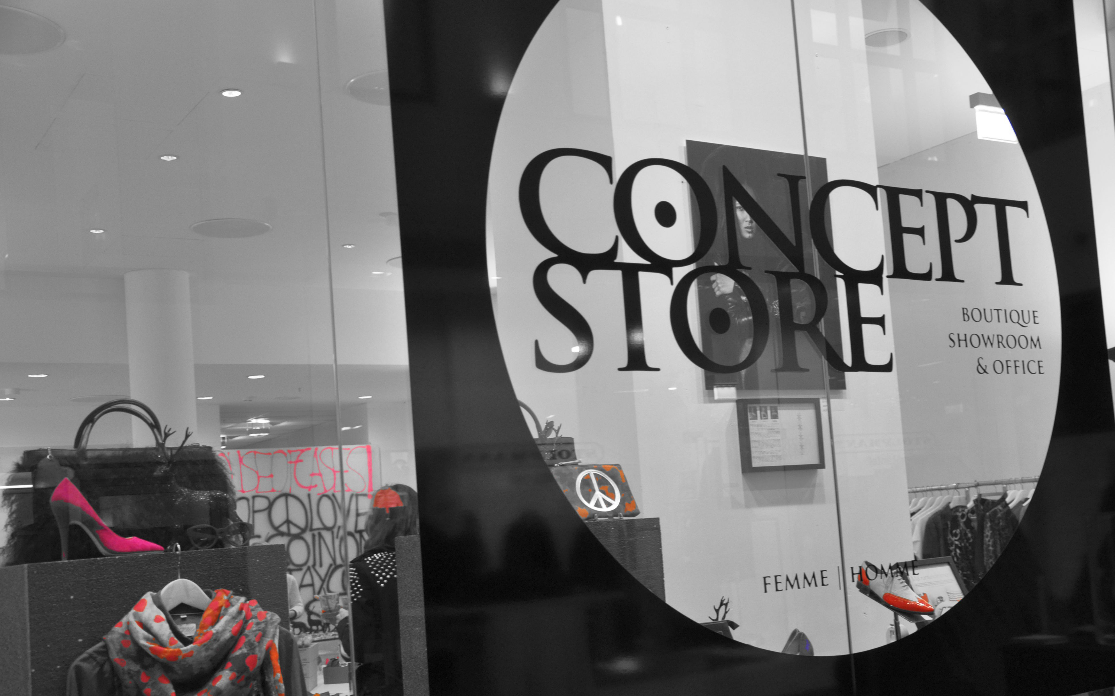 Concept Store, House of Cases, Press Night