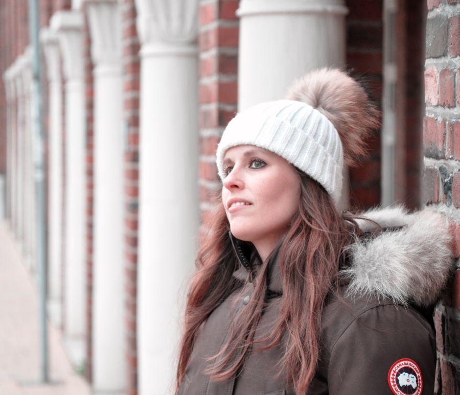 Kanada Gosse Jacke, braun, Fashionblogger