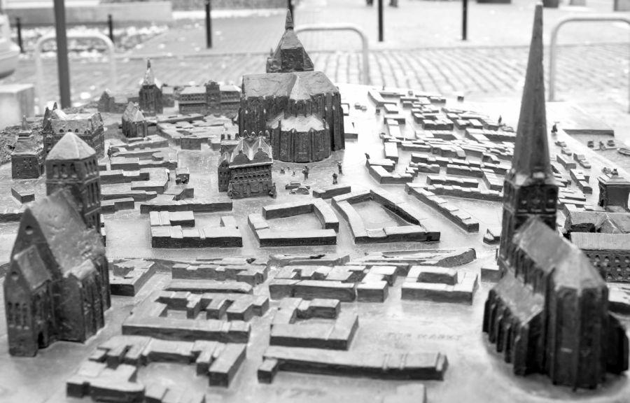 Rostock Miniatur- Stadt