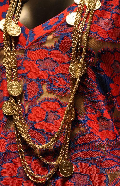 Chanel Goldmünzen- Kette