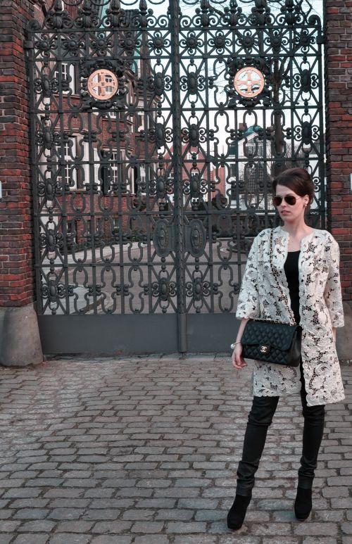 H&M Trend Spitzenmatel, Lace- Coat, Saison 2014