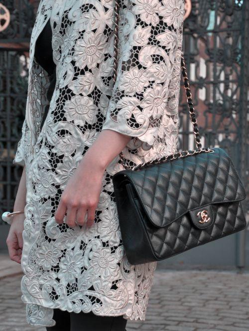 H&M Trend Spitzenmatel, Lace- Coat