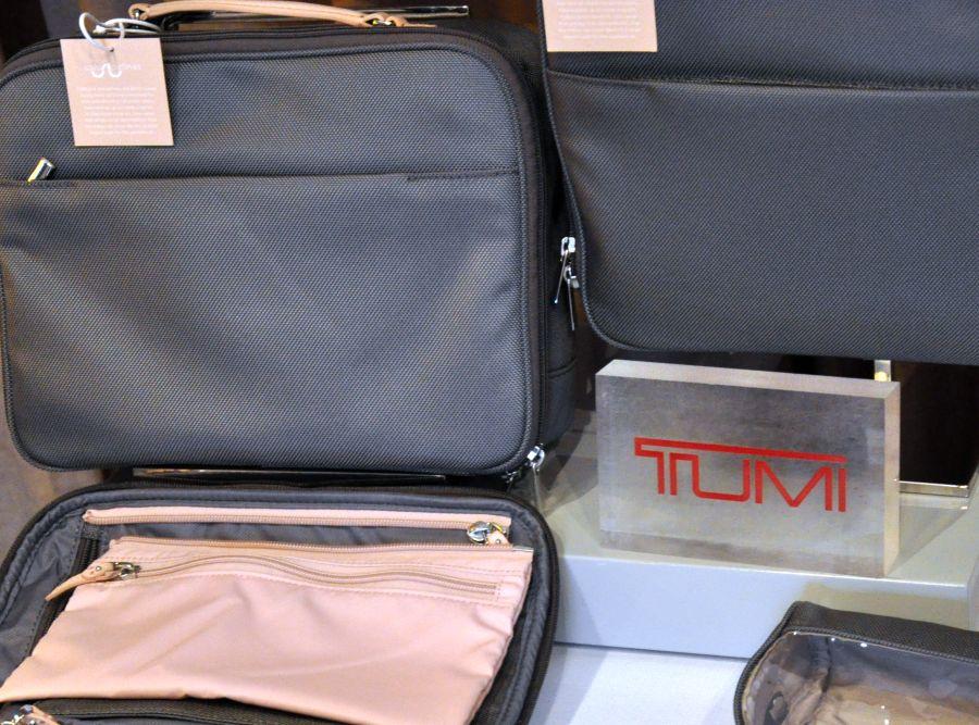 Tumi Koffer, rosa, grau, Saison 2015