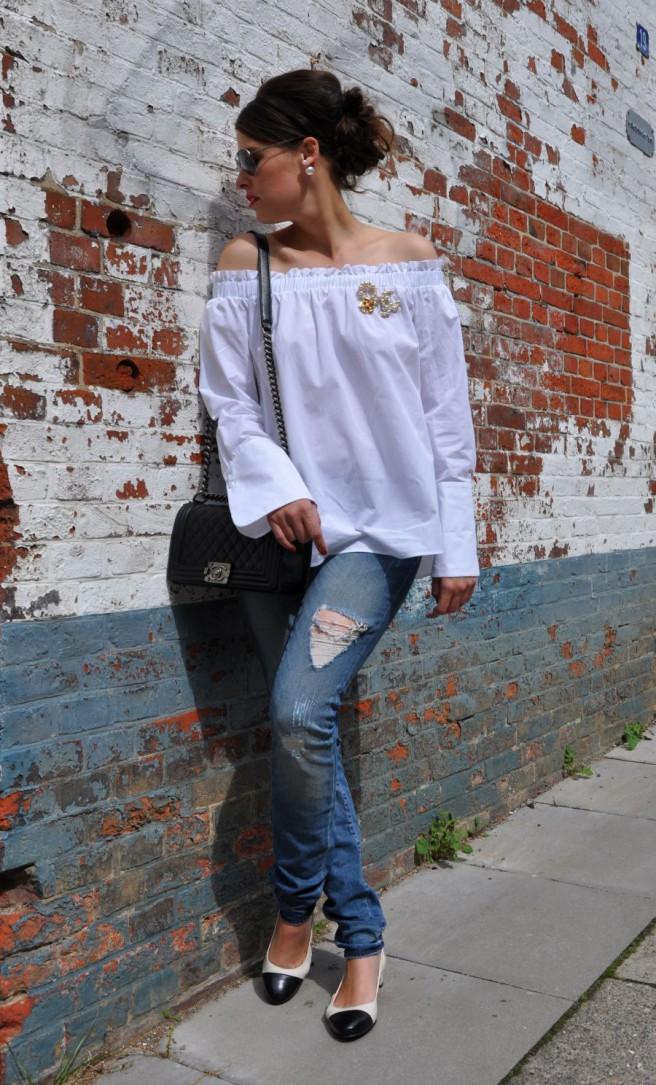 #OOTD: Die Chanel- Slingbacks Alternative