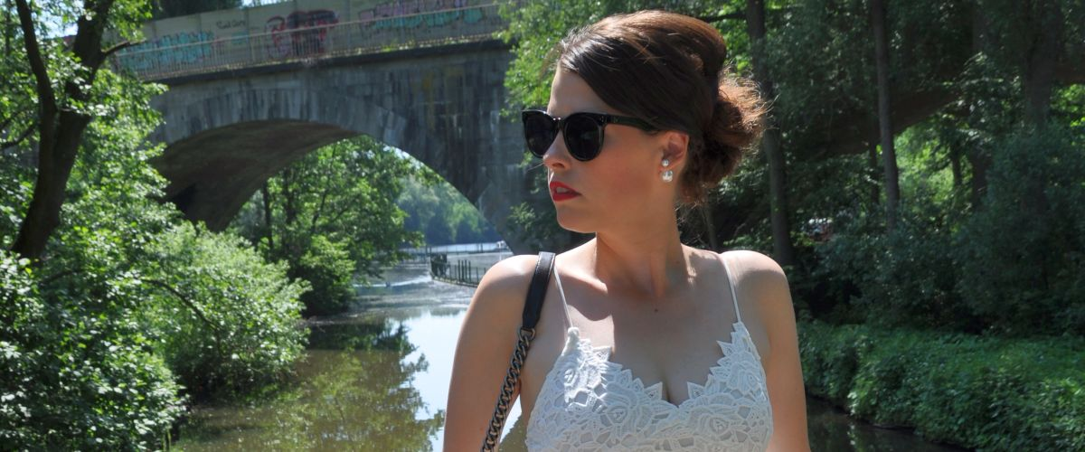 #OOTD: THE WHITE LACE DRESS