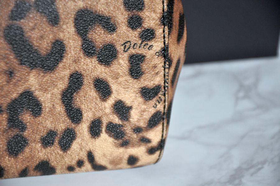 Dolce & Gabbana Miss Sicily Leopardenprint Tasche