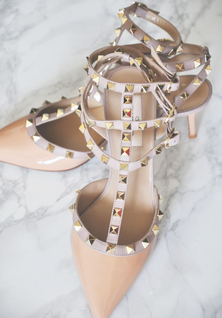 NEW IN: My Wedding- Valentino Rockstud' Heels
