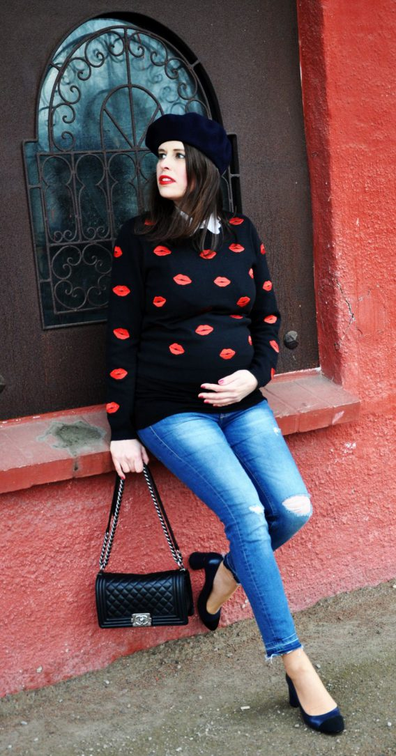 #OOTD:BUMPSTYLE SSW 25, LiKE A FRECH KISS