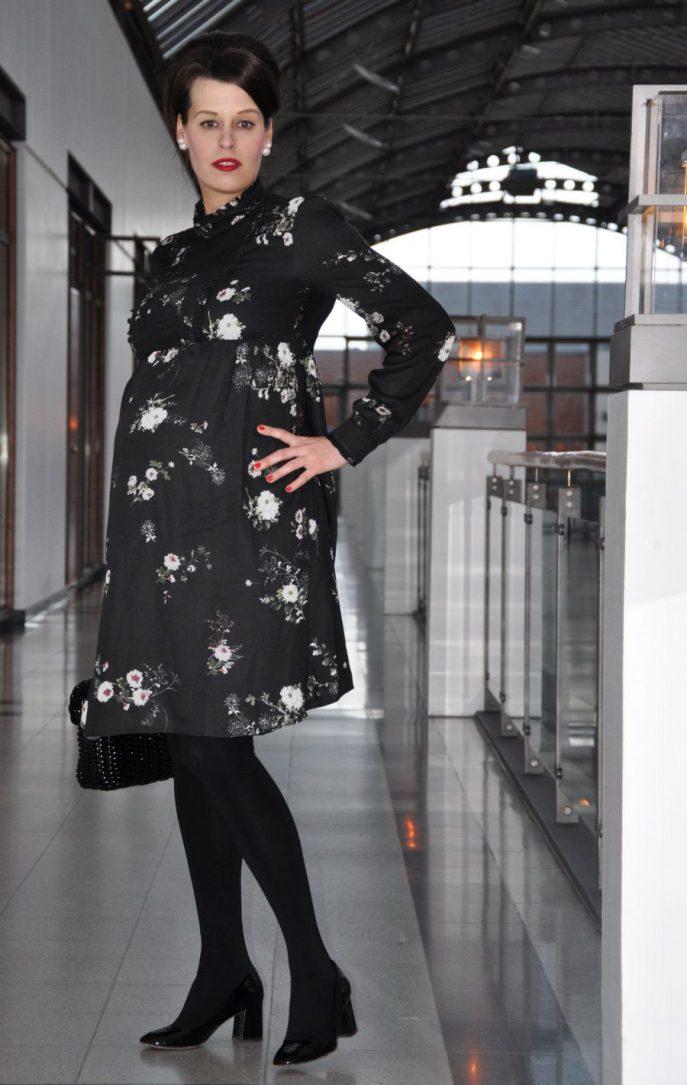 #OOTD:BUMPSTYLE SSW 30, Vintage Blütenkleid