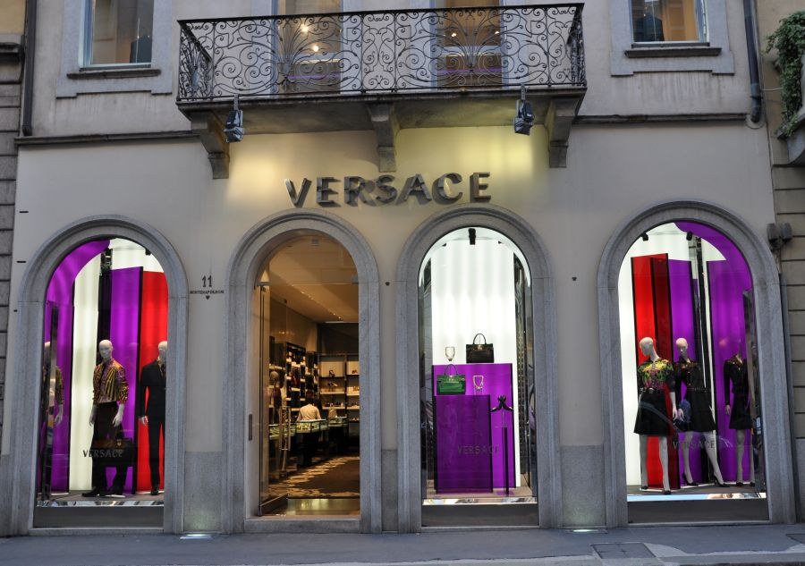 Versace Store Mailand, Milano