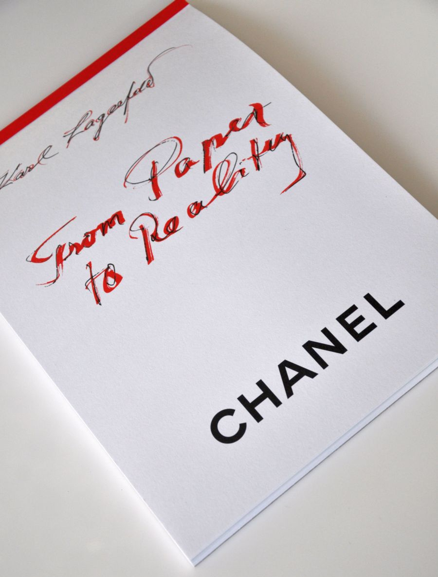 Karl Lagerfeld From Paper to Reality, Chanel