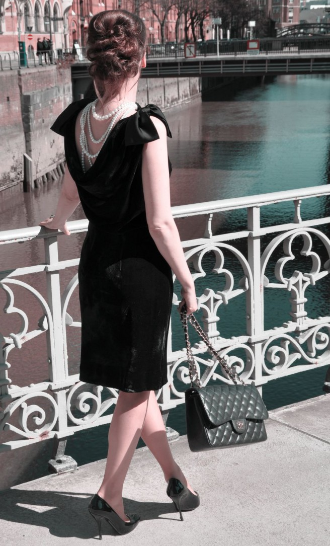 #OOTD: MY LITTLE BLACK AUDREY HEPBURN DRESS