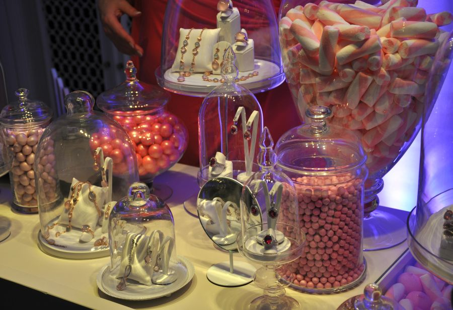 Bucherer Candy Colours Event, Candybar