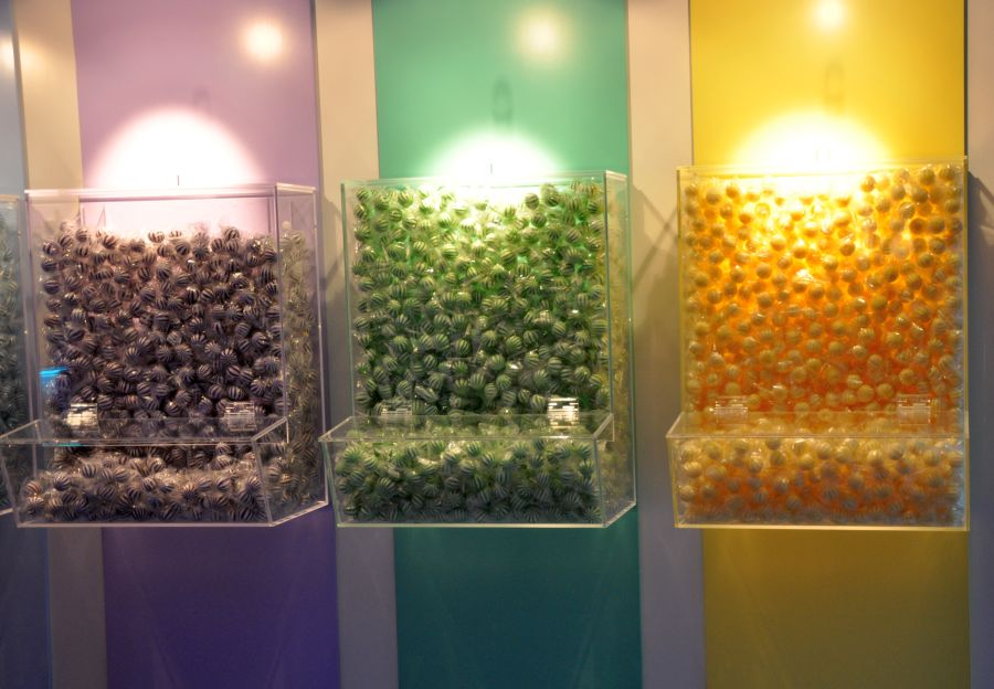 Bucherer Candy Colours Hamburg, Bonbons