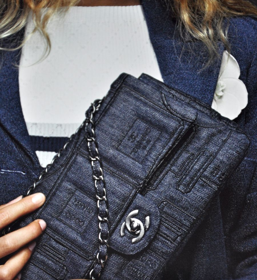 Chanel Spring-Summer 2016 Pre-Collection, Jeans Tasche