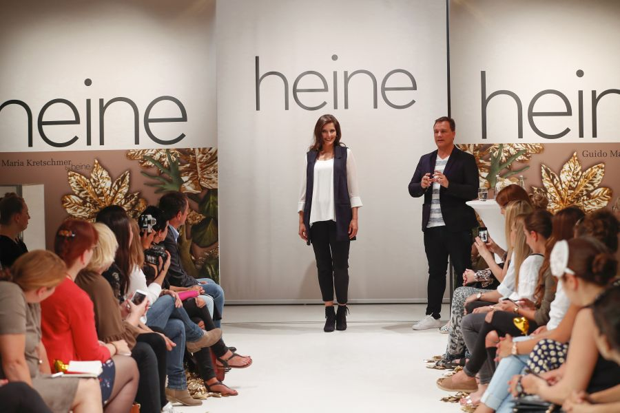 HAMBURG, GERMANY - JUNE 09: during the Guido Maria Kretschmer presents new collection by heine on June 09, 2016 in Hamburg, Germany. (Photo by Franziska Krug/Getty Images for heine)