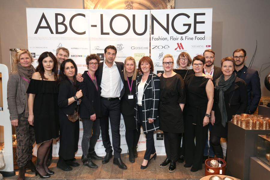 ABC-Lounge Fashion, Flair & Fine Food am 8.11.2016 im Flamant Hohe Bleichen 24 in Hamburg